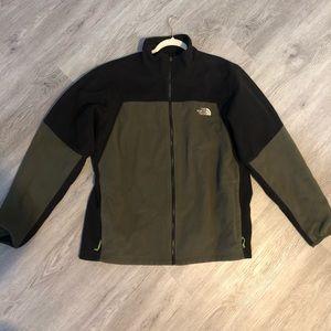 North Face Men's fleece jacket size XL